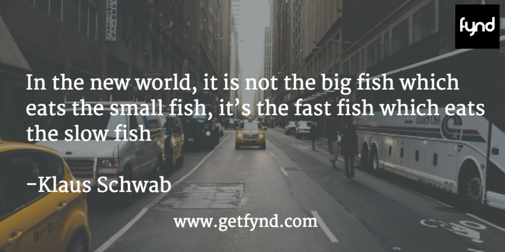 It Is No Longer The Big Fish Eats The Small Fish Fynd