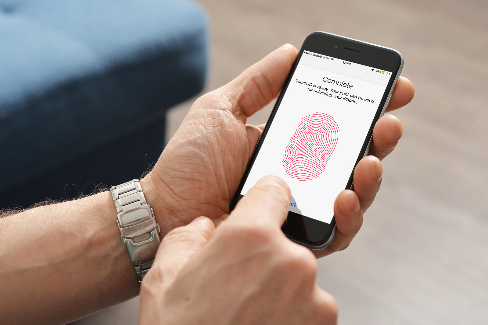 What is Touch ID Problem on iPhone - fynd